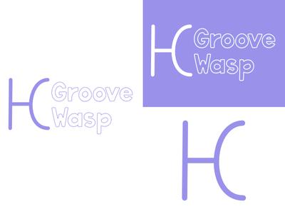 Groove Wasp | Week 2 groovewasp logo design logo identity graphic design typehue brandom challenge branding