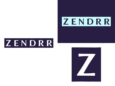 Zendrr | Week 3 zendrr logo design logo identity graphic design typehue brandom challenge branding