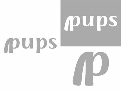 Pups   Day 15 dog subscription thirty logos pups logo design logo identity graphic design challenge branding
