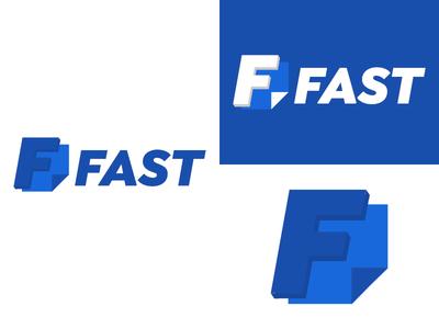 Fast   Day 17 form thirty logos fast logo design logo identity graphic design challenge branding