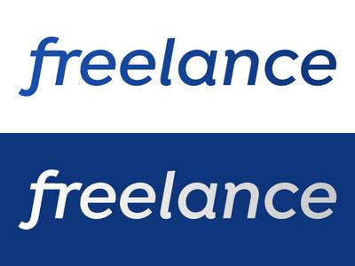 Freelance   Day 20 thirty logos freelance logo design logo identity graphic design challenge branding