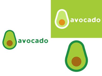 Avocado   Day 24 grocery thirty logos avocado logo design logo identity graphic design challenge branding