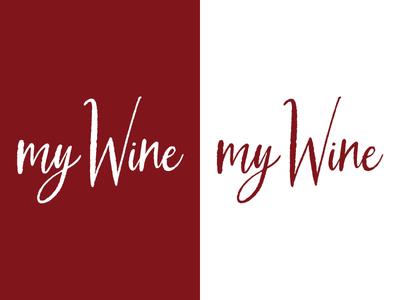 My Wine   Day 26 wine thirty logos my wine logo design logo identity graphic design challenge branding
