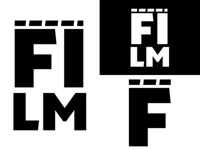 FILM   Day 29 thirty logos film logo design logo identity graphic design challenge branding