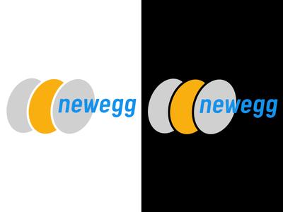 Newegg   Day 30 thirty logos newegg logo design logo identity graphic design challenge branding