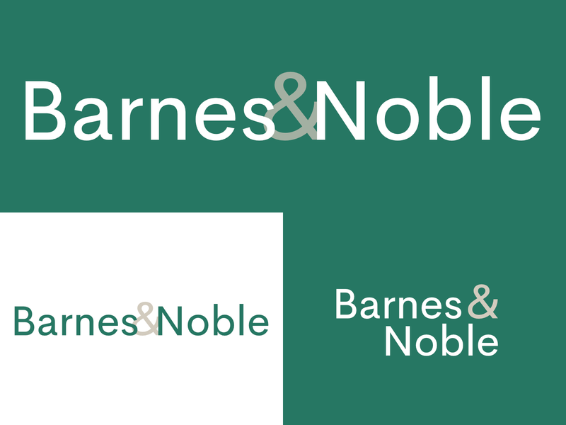 Barnes And Noble Logo Redesign
