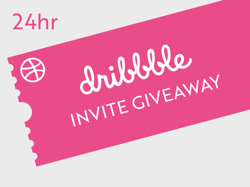24 Hour Invite Giveaway art vector illustration graphic prospect draft invites giveaway invite giveaway giveaway design invite