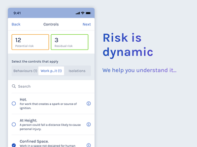 Risk is dynamic product design ux ui health and safety