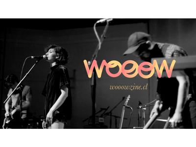 Wooowzine logo logo branding music warm