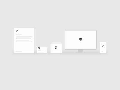 Icon set Emble.ma logotype brand branding simple minimal set icon