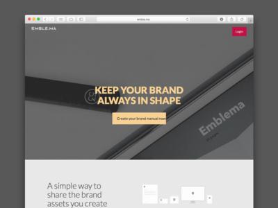 Landing startup illustration logotype brand branding ui landing