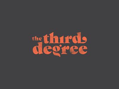 The Third Degree Logo
