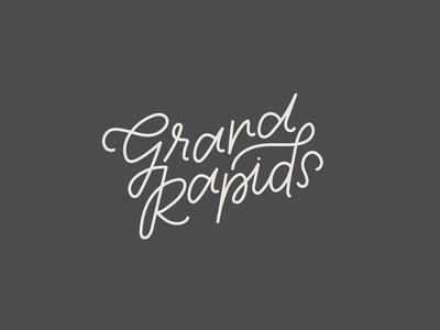 Grand Rapids Lettering