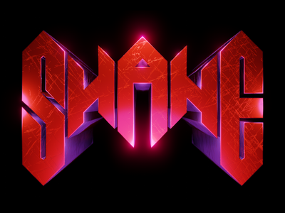 "My Personal Branding Part III: ""SHANE"" illustration designer sheffield shane 3d brand vector logo design"
