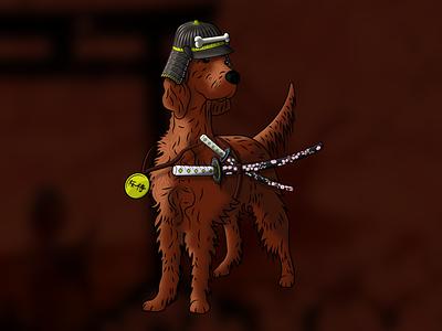 The Mzee: Chapter 2 gaming sheffield illustration branding concept brand vector logo design dog logo dog