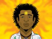 Muti Musafiri Profile Illustration