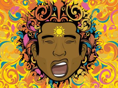 Muti Musafiri Full Colour Profile Illustration