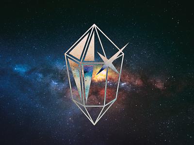 KIDE Crystal logo vector diamond crystal music