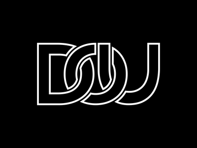 DO U icon typography illustration concept branding vector design logo design brand logo