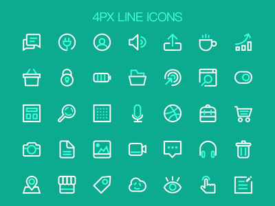 Line Icon  line psd free