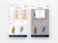 Dress Collocation App Design