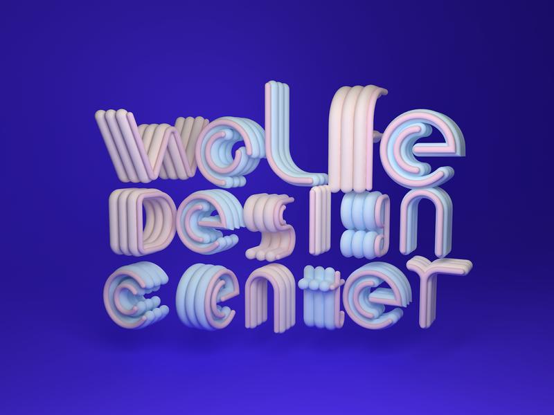 C4D Font!hope you like!