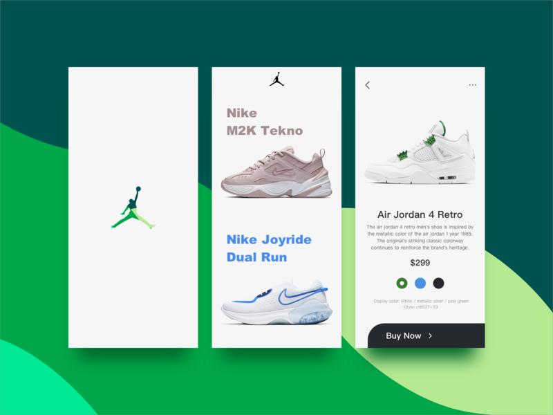Sports shoes app UI design app design 设计 app ux design ui