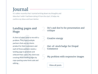 Gilli.is Journal