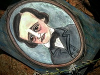 "Edgar Alllan Poe ""Ligeia"" Portrait"