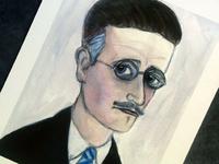 James Joyce Literary Portrait