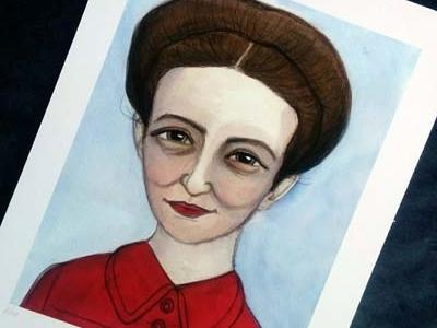 Simone De Beauvoir Literary Portrait