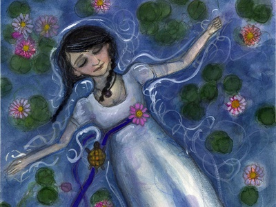 Floating Among the Lilies