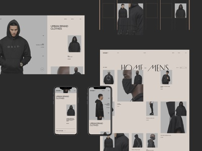 Stamp - case on Behance store ecommerce minimal ux interface ui clean site web fullscreen