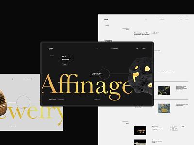 Non ferrous metal plant website 3d promo minimal interface ui clean site web fullscreen