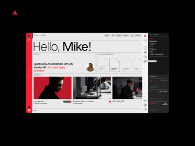 Raya from WayRay design typogaphy ux interface ui clean site web fullscreen