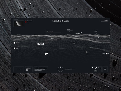 Music label concept 1.0