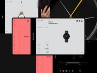 Watches store / coming soon on Behance