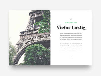 Font pairing exercise