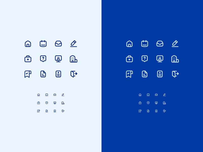 Icon Exploration for Healthcare App