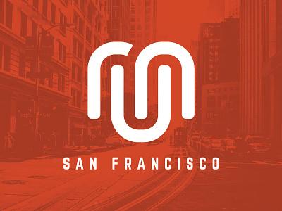 Run San Francisco - Logo Design jason lowery running logo mark corporate branding corporate identity run running design san francisco branding typography logo