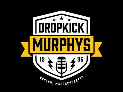 Dropkick Murphys - 2016 Stage Backdrop