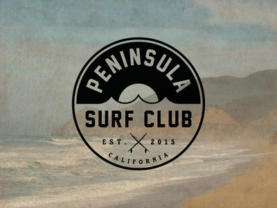 Peninsula Surf Club - Logo