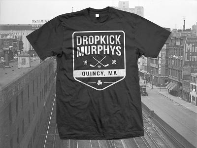 Dropkick Murphys - Hockey Shirt Design bruins t-shirt shirt apparel vintage oldtyme quincy boston hockey dropkick murphys
