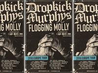 Dropkick Murphys - Tour Poster