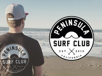 Peninsula Surf Club - Logo