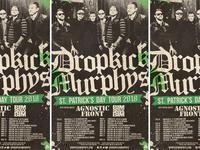 Dropkick Murphys - St. Patrick's Day Tour 2018