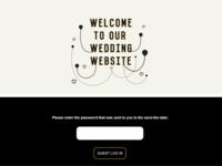 An invitation website