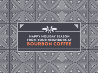 Bourbon Coffee Holiday