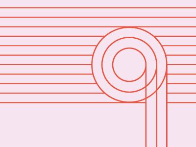 Radiant Media Labs Brandmark Use lines minimal clean brandmark