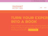 Radiant Media Labs Website